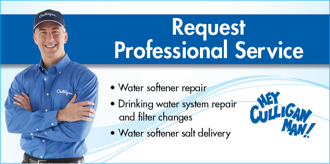 Request Professional Water Treatment Service