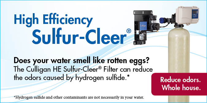 Sulfur-Cleer Water Filters