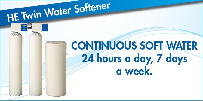 Culligan HE Twin Water Softener