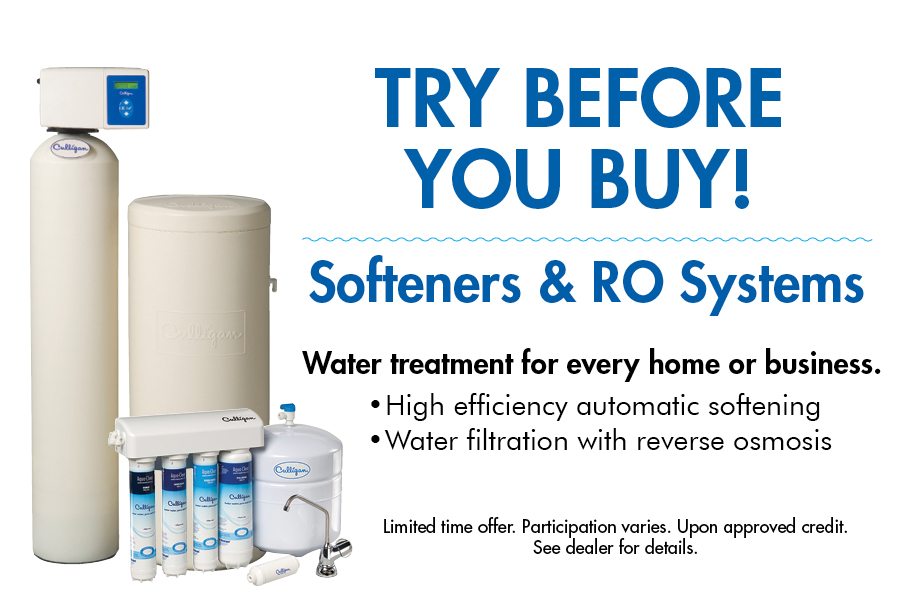 Try Before You Buy Water Treatment System Rental Culligan